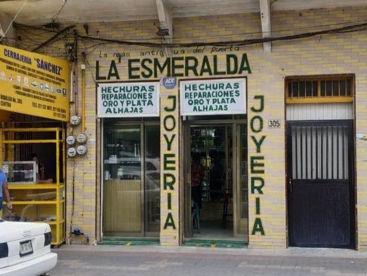 Joyería La Esmeralda, tradición de 100 años en Coatzacoalcos