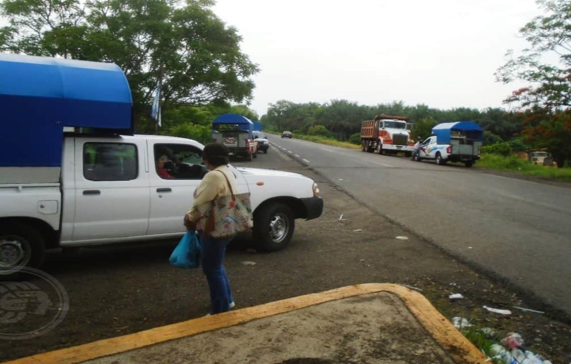 Mixtos rurales de Mecayapan ya impusieron cuota en su retén