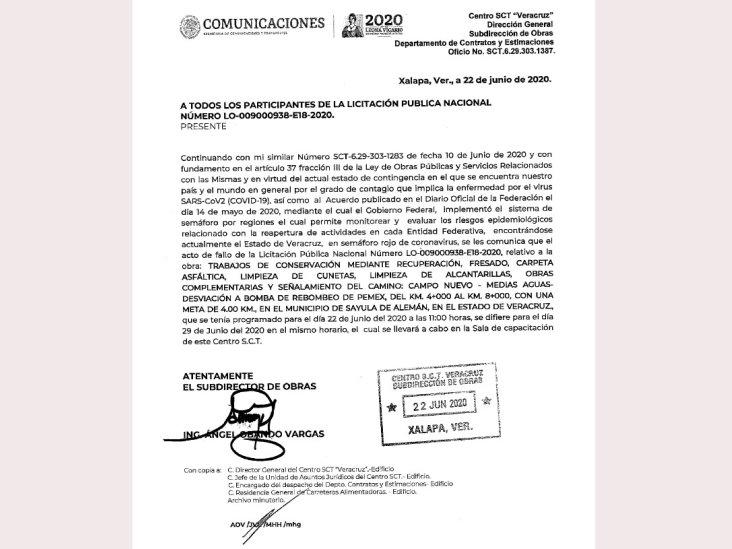 Amenazan con tomar instalaciones de SCT en Acayucan