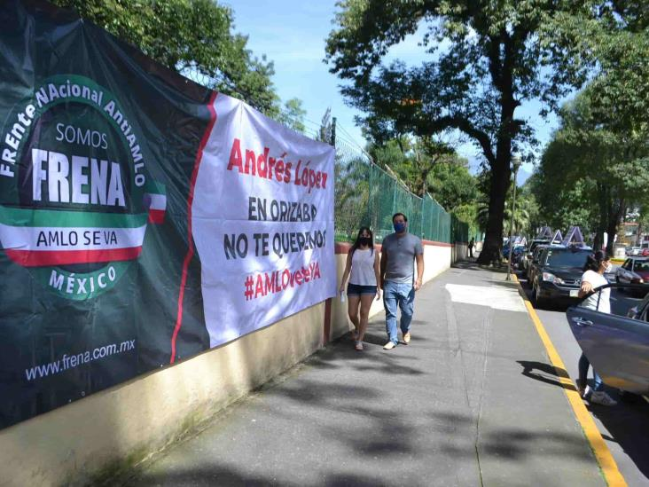 Orizabeños realizan su  tercera caravana anti AMLO