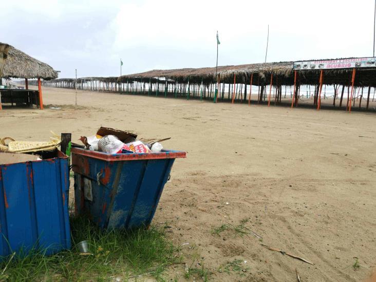 Contaminación de playas en Tuxpan regresa tras reapertura