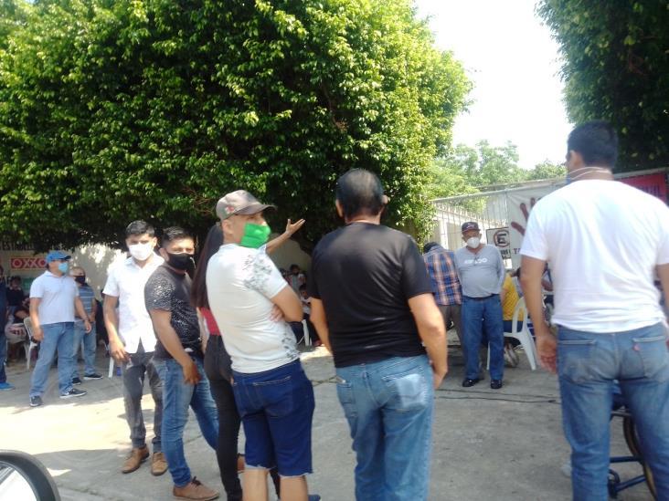 En Minatitlán, protestan por abusos e ilegalidades de la CFE