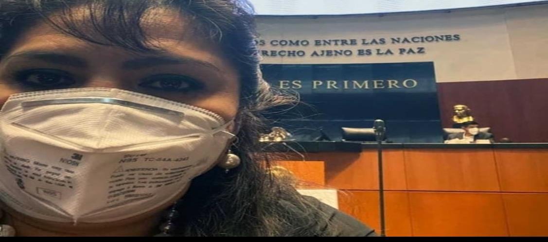 Delicada, Nestora Salgado a causa del Covid-19