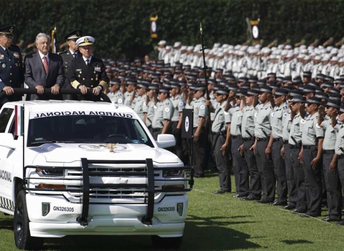 López Obrador celebrará el primer aniversario de la Guardia Nacional