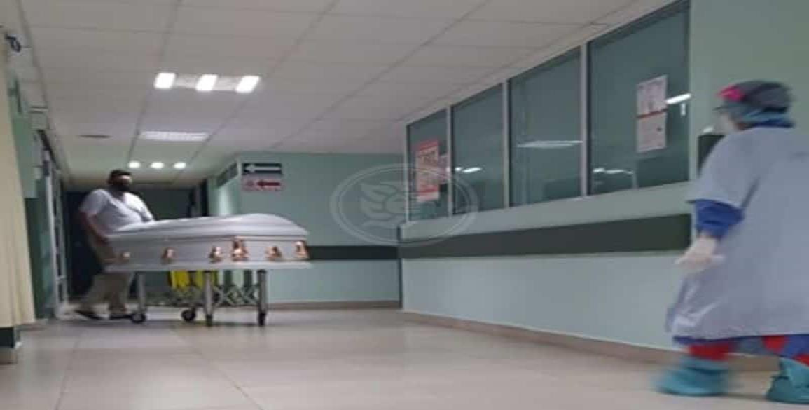 En Hospital Covid de Minatitlán, cada vez más personal contagiado