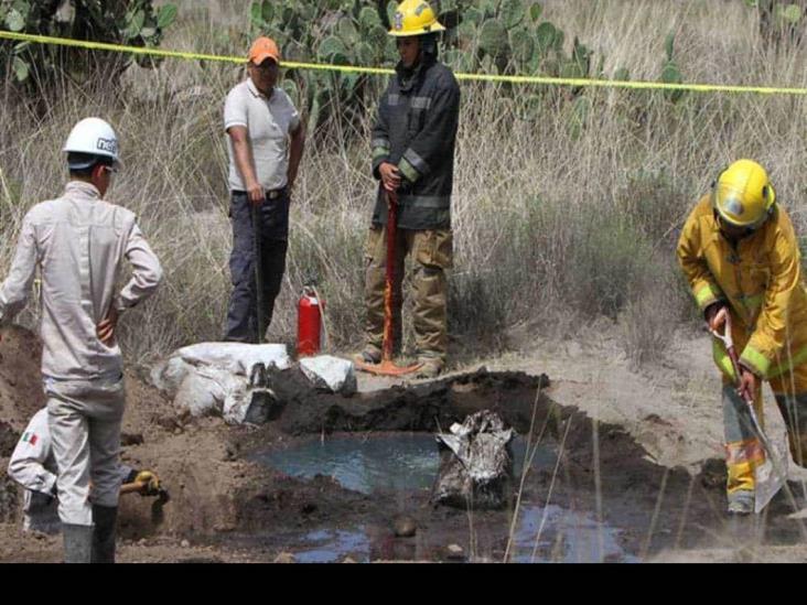 Recuperan 2 millones de litros en toma clandestina de tramo Tuxpan-Tula