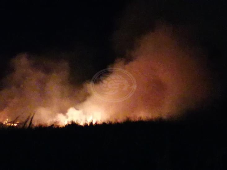 Incendio de pastizales en Rabón Grande moviliza a PC y Bomberos