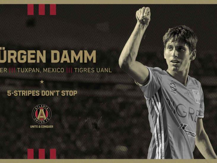 Jürgen Damm será jugador de Atlanta United en la MLS