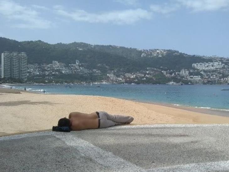 Reabren playas en Acapulco, pero con restricciones