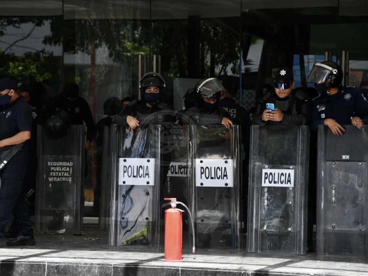 Amenaza de disturbios en Xalapa, borregazo que cerró negocios y movilizó a SSP