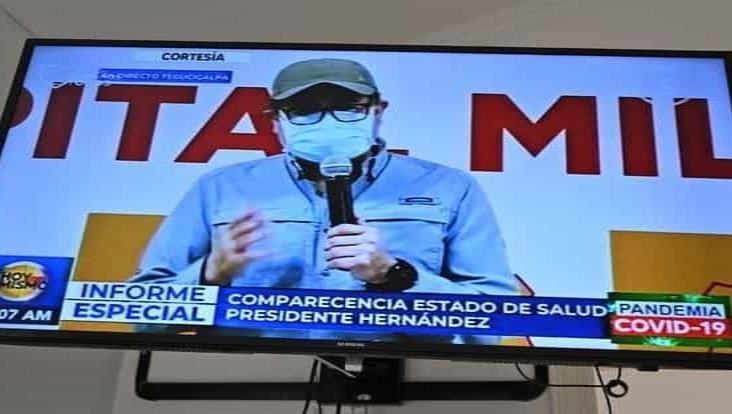 Se recupera el presidente de Honduras de coronavirus