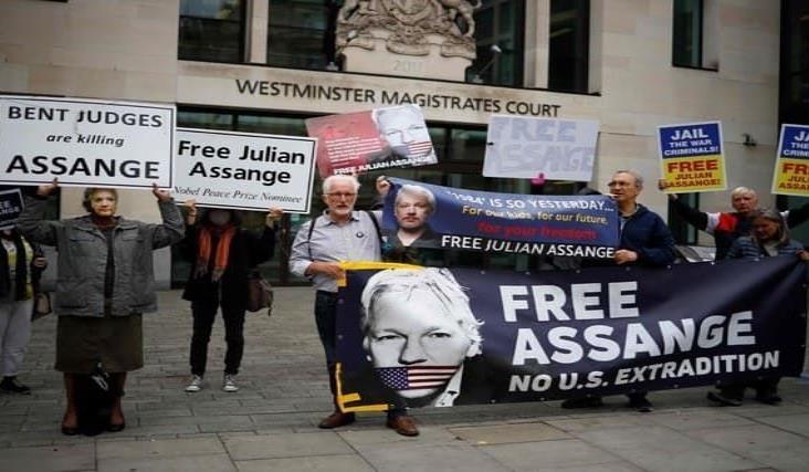 Más de 40 organizaciones piden liberación inmediata de Assange