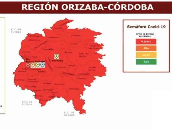 En Veracruz, 137 municipios  en riesgo máximo y 75 en riesgo alto por COVID-19