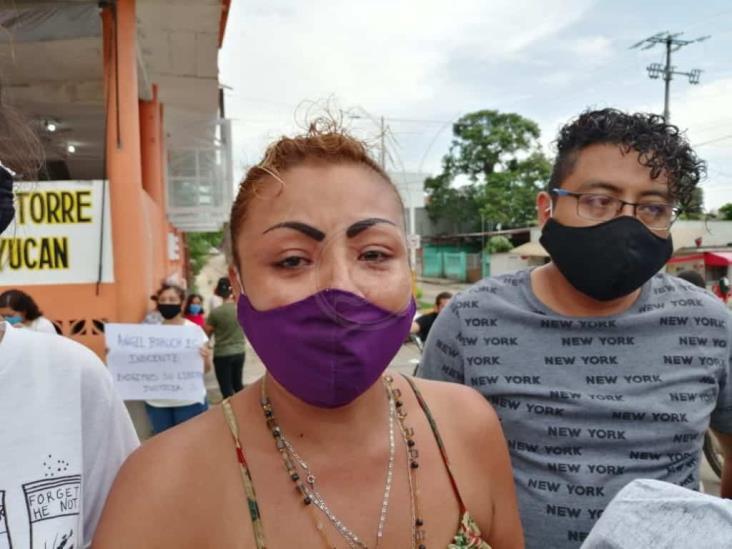 Exigen liberación de jóvenes detenidos arbitrariamente en Acayucan