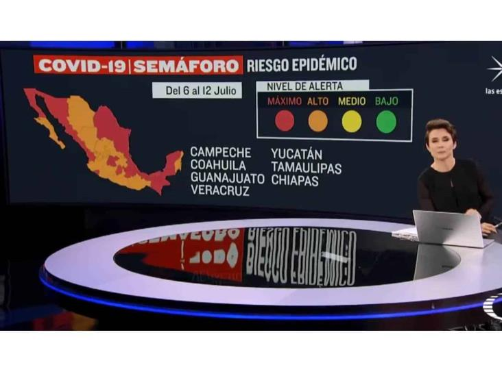 Veracruz volvería a semáforo rojo la próxima semana