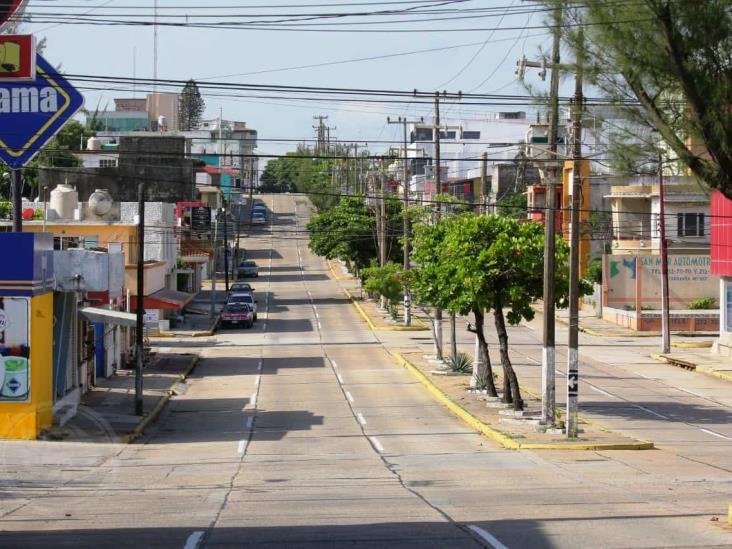 Continuará cierre de vialidades en Coatzacoalcos debido a Semáforo Rojo