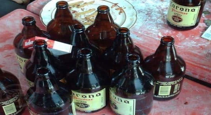 En Agua Dulce, hidrómilos trafican con bebidas alcohólicas