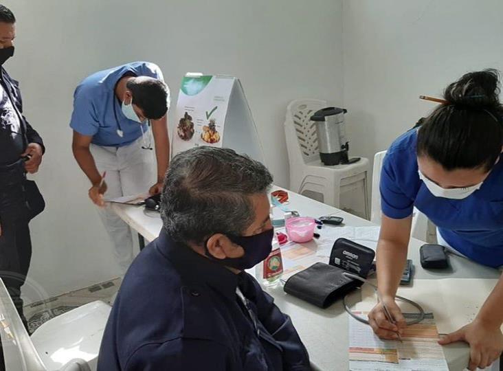 En Moloacán, inician acciones para contrarrestar el síndrome metabólico