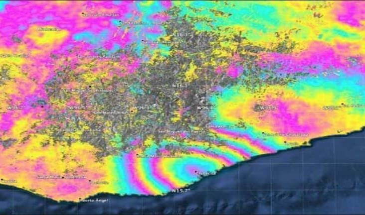 Sismo de Oaxaca desplazó 45 centímetros territorio mexicano: NASA