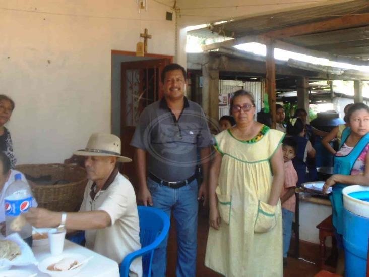 Nombran nuevo mayordomo para fiestas patronales en Soteapan