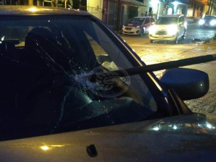 Dos lesionados deja aparatoso percance vial en Coatzacoalcos