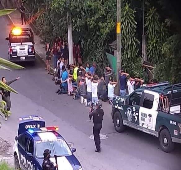 Detienen a 46 personas por agredir a la Fuerza Civil en Ixtaczoquitlán
