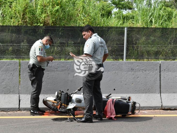 Cobrador de mueblería muere tras choque en tramo Jáltipan- Acayucan