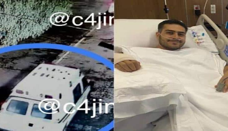 Sicarios pretendían llevarse a García Harfuch en ambulancia clonada del IMSS