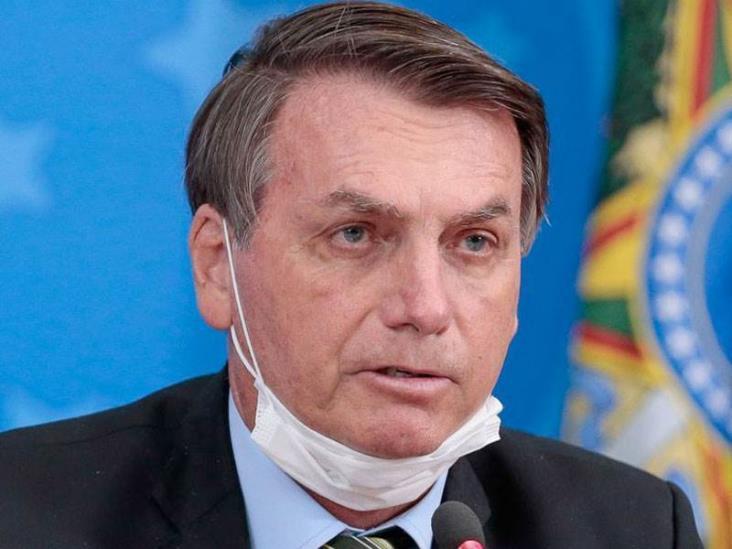 Jair Bolsnaro, presidente de Brasil, da positivo a Covid-19
