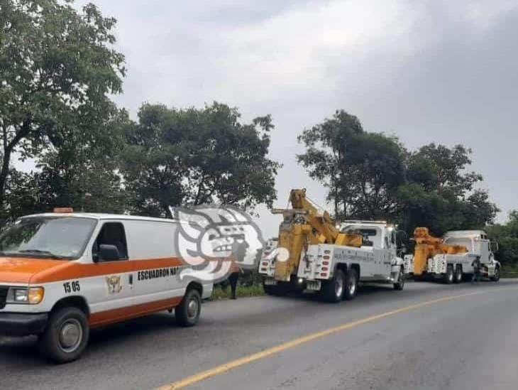 Tractocamion cae a Barranco de 200 metros en Atzalan