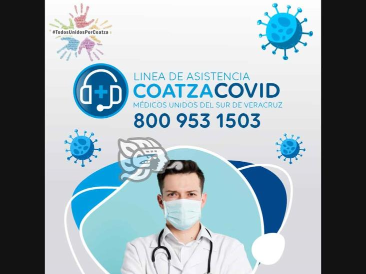 Contará Coatzacoalcos con línea médica para personas con Covid-19