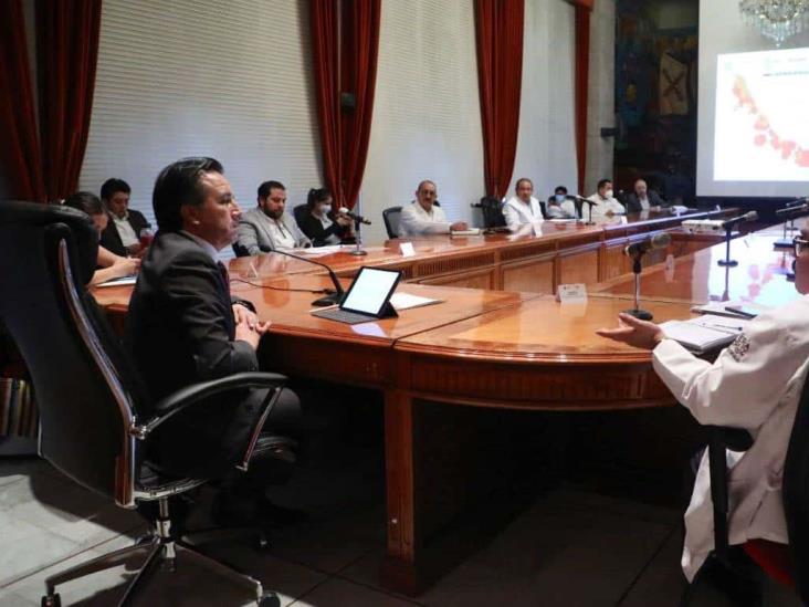 CGJ: Se vigilará aplicación de medidas sanitarias en municipios de Veracruz