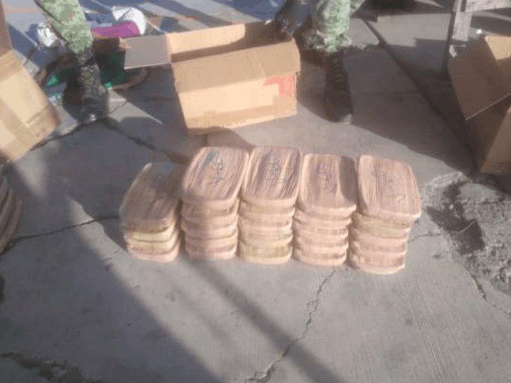 Decomisan en Sinaloa 53 kilos de metanfetaminas