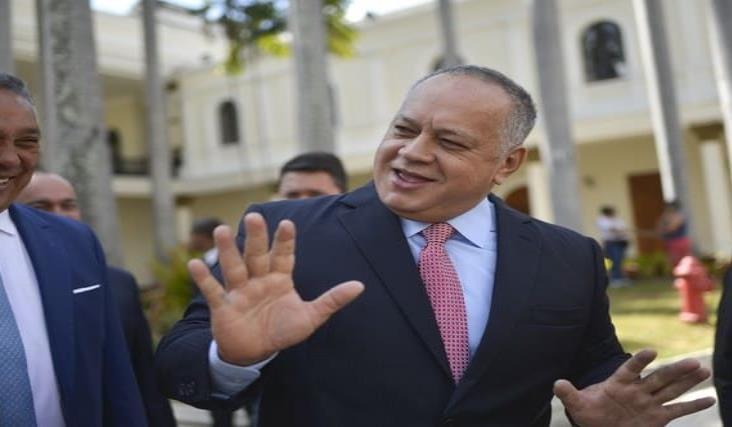 Diosdado Cabello, jefe de la Constituyente de Venezuela tiene Covid-19