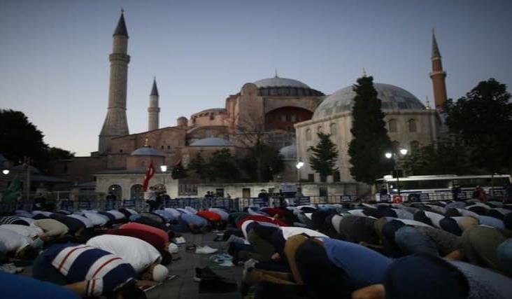 Unesco lamenta decisión de Turquía de cambiar Santa Sofía en mezquita