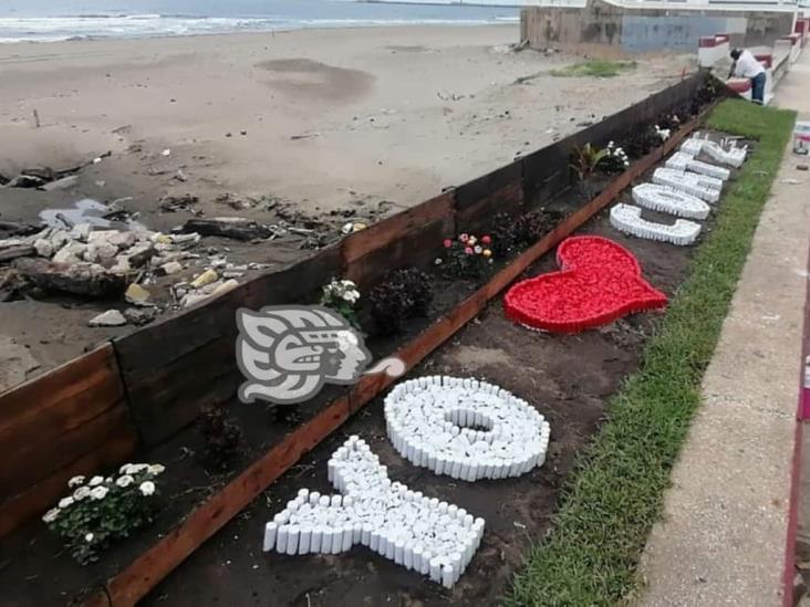 Terrazas en malecón de Coatzacoalcos, serán concluidas hasta noviembre
