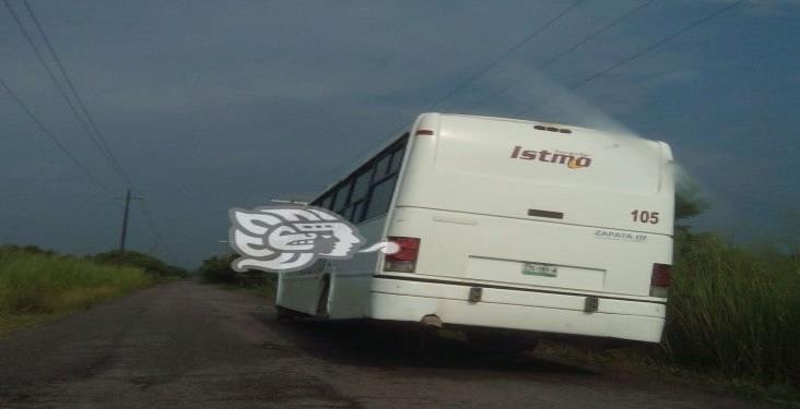 Contingencia sanitaria afecta a línea de autobuses de segunda en Moloacán