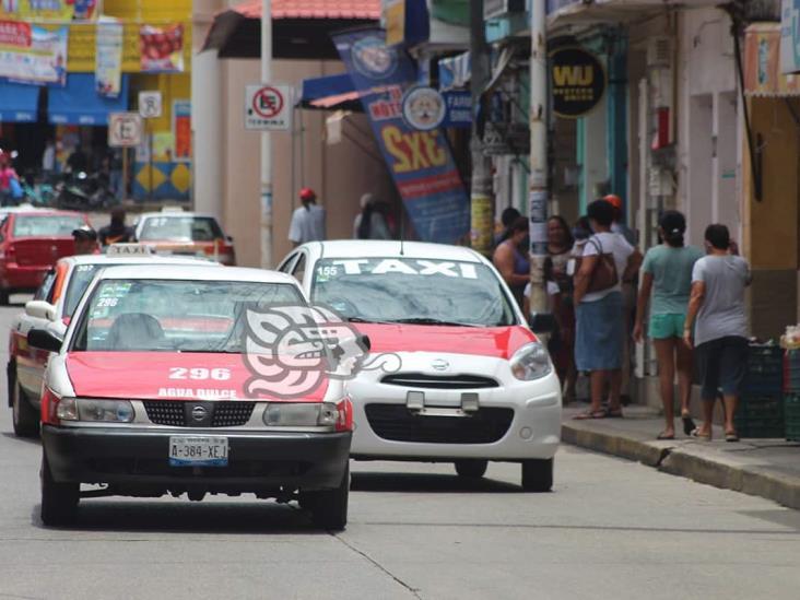 Taxistas de Agua Dulce no acatarán medidas sanitarias