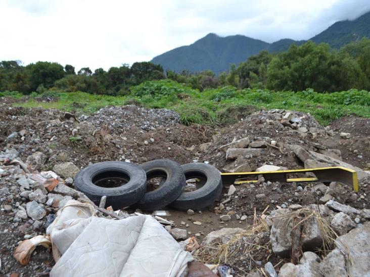 Ayuntamiento de Río Blanco contamina ex Laguna Galán, acusan