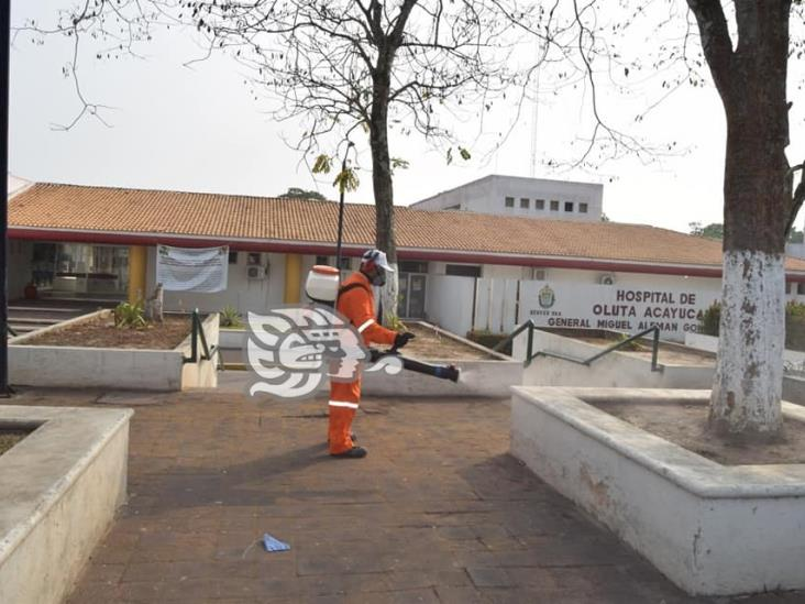 Sin médicos COVID el hospital de Oluta