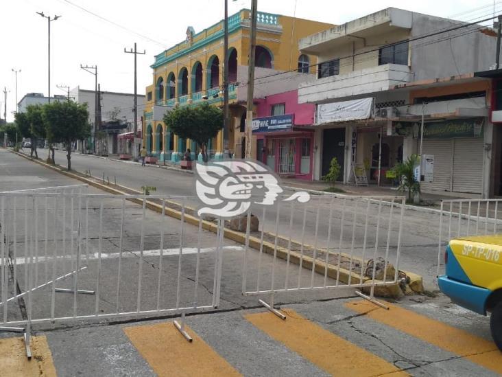 Continúa Coatzacoalcos en semáforo rojo; mantienen medidas de prevención