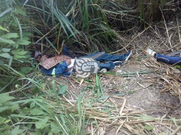 Localizan dos ejecutados en el poblado Nuevo Teapa
