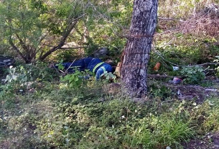 Muere hombre derrapado sobre la carretera Ídolos-Naranjos