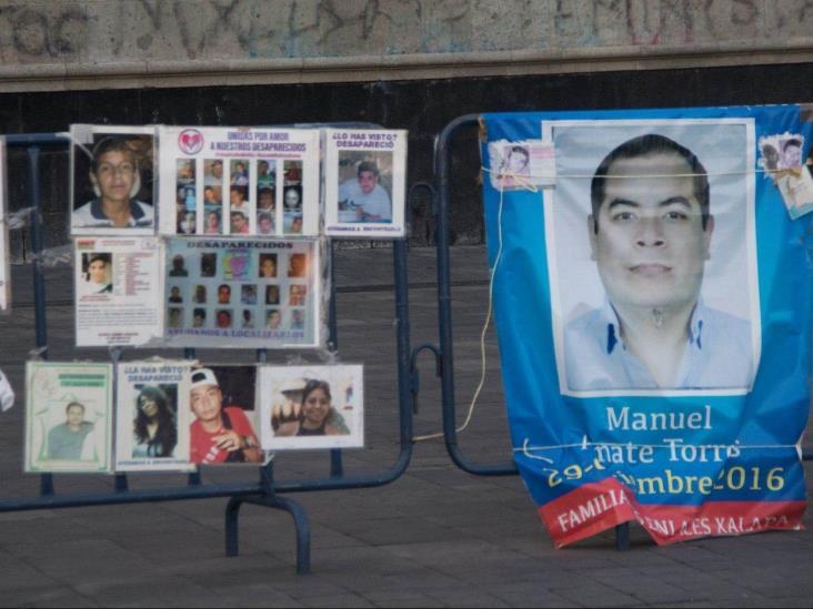 En México hay 73 mil desaparecidos y más de 3 mil fosas clandestinas