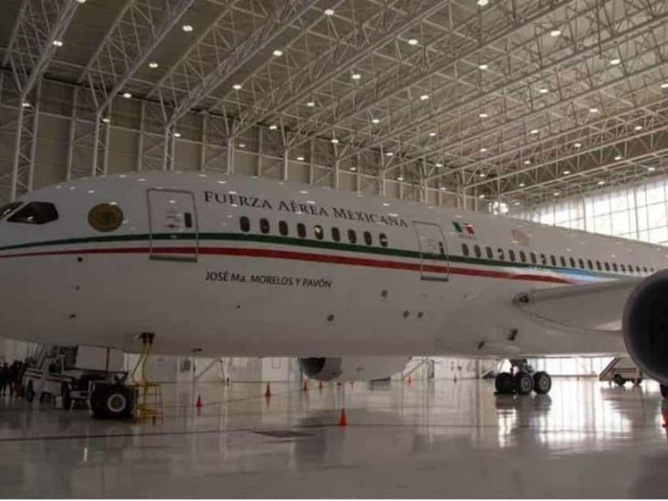 Ofrecen 120 mdd y equipo médico por avión presidencial