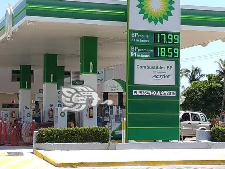 En Coatzacoalcos la gasolina Premium más cara del país