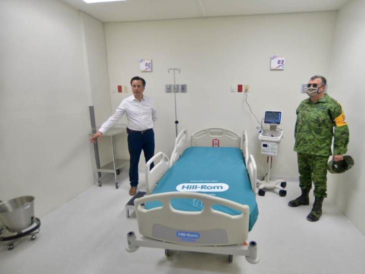 Entra en operación el CAME de Coatzacoalcos para atender pacientes covid