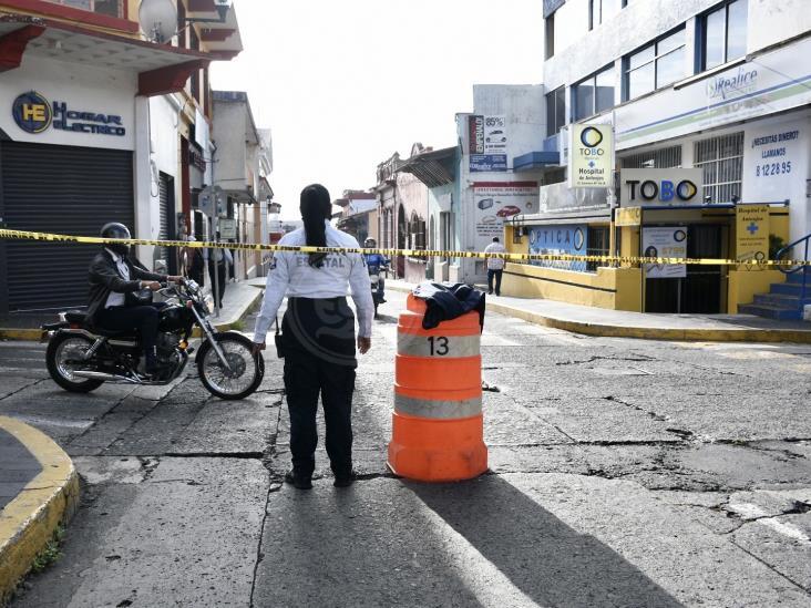 Cierran accesos al centro de Xalapa; buscan frenar contagios