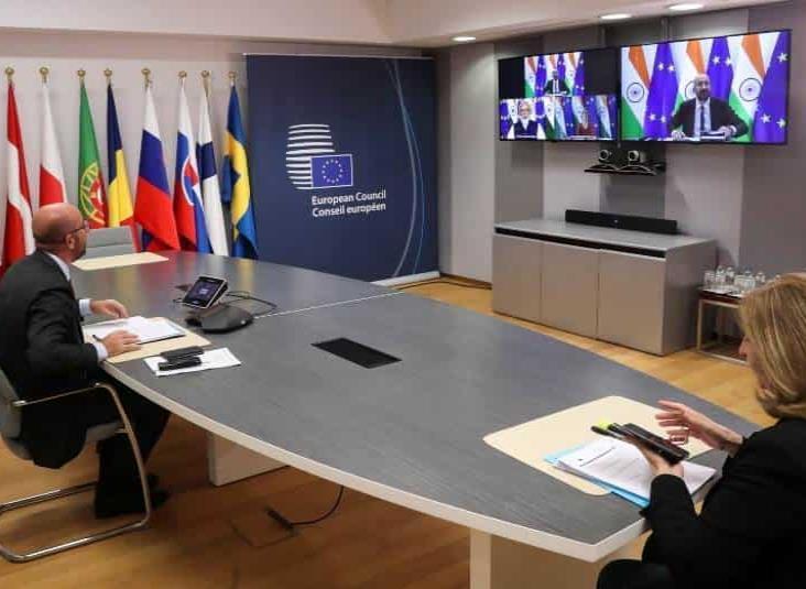 UE e India quieren reforzar sus lazos para enfrentar a China