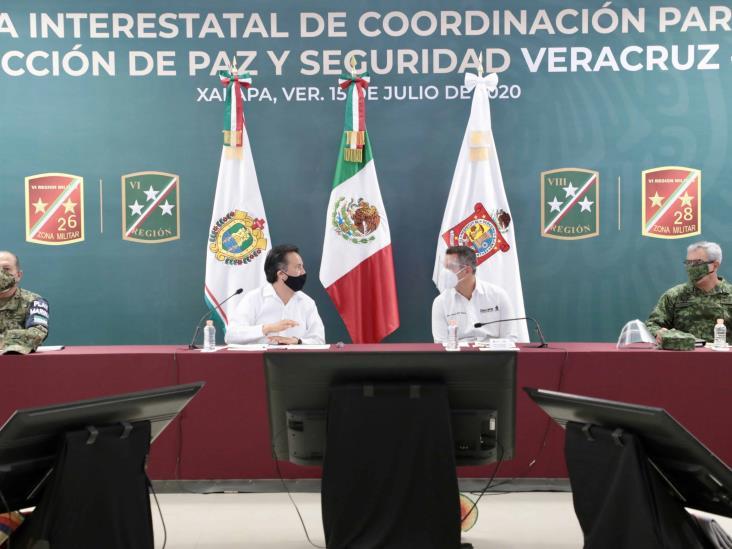 Oaxaca y Veracruz extienden a Coatzacoalcos combate conjunto contra crimen